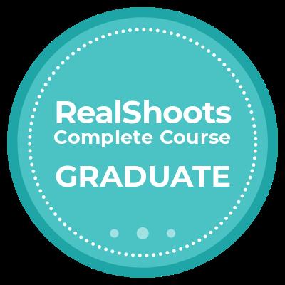 RealShoots Complete Course Graduate