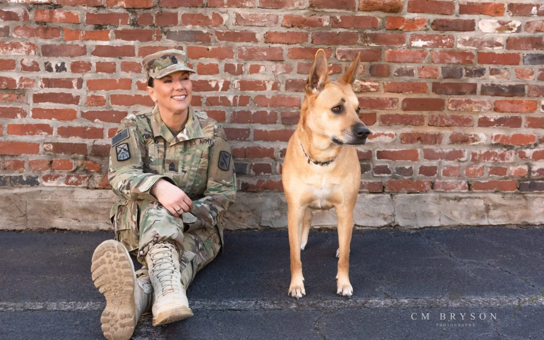 Dogs on Deployment – Military Pet of the Year – Military Veteran & Her Dogs in Augusta, Georgia