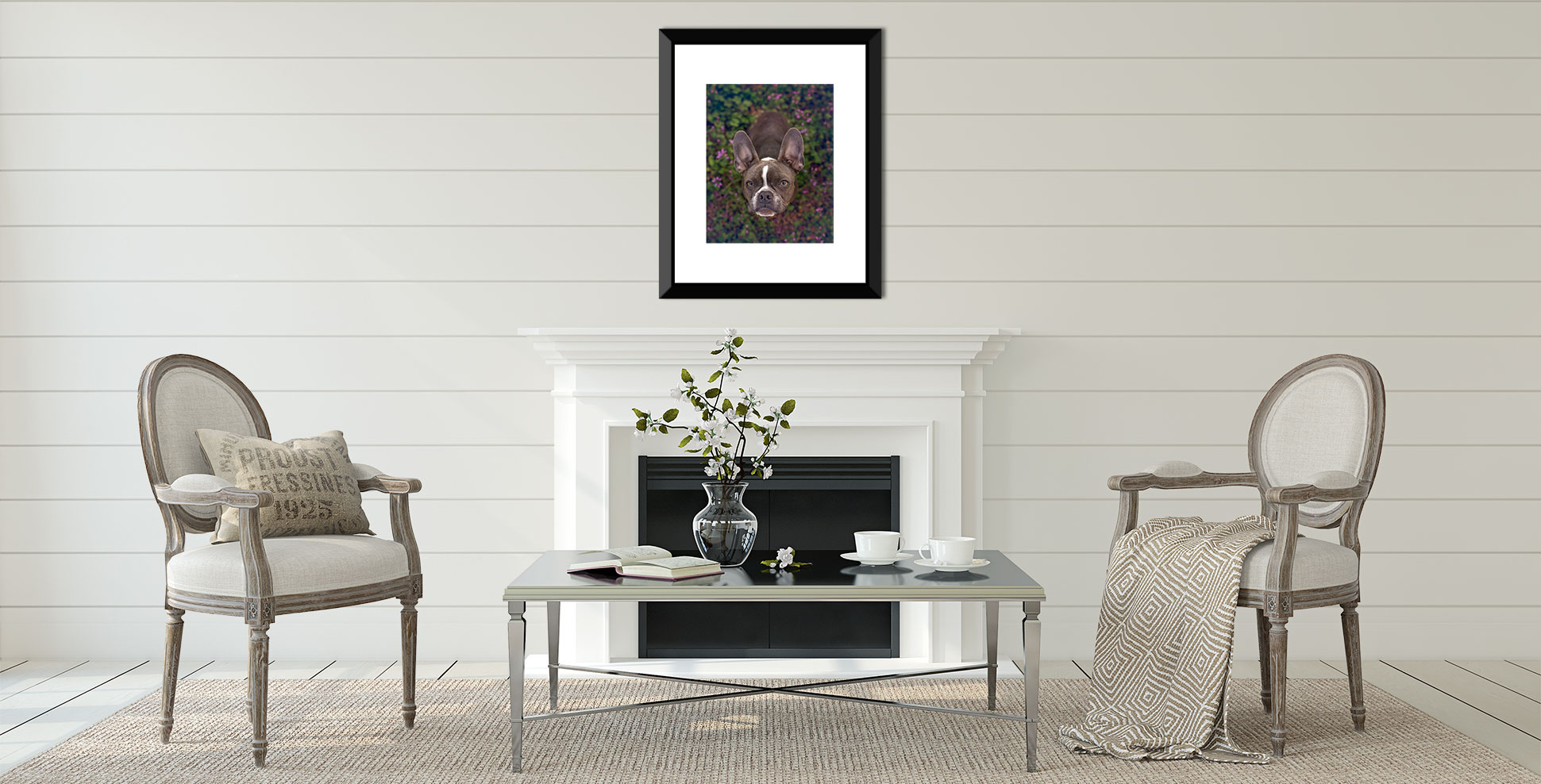 Classic timeless photographic art of your dog is possible with Atlanta dog photographer.